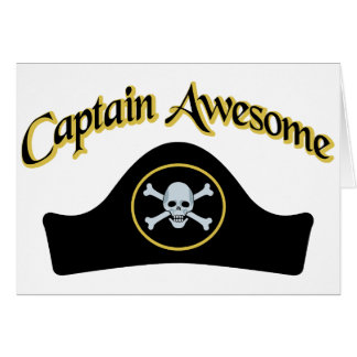 Captain Awesome Card