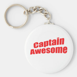 Captain Awesome Key Chains