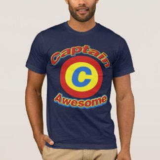 Captain Awesome Men's Dark Shirt