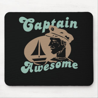 Captain Awesome Mouse Pad
