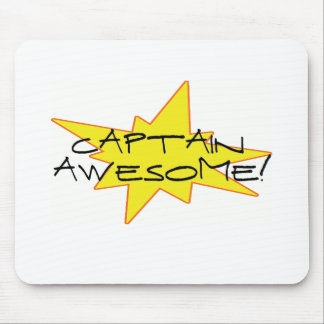 Captain Awesome! Mouse Pad