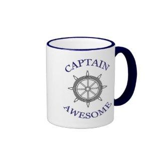 CAPTAIN AWESOME mug