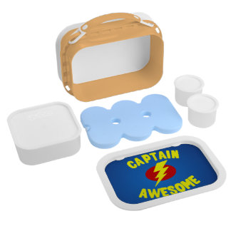 Captain Awesome Yubo Lunchbox