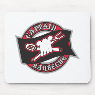 Captain Barbecue Mouse Pad