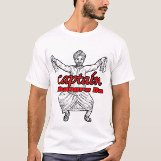Captain Bhangre Da T-Shirt
