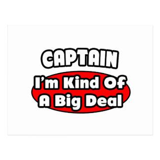Captain Big Deal Post Cards