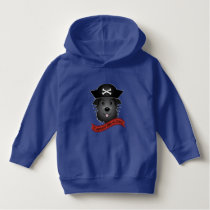 Captain Black Dog - Toddler Pullover Hoodie