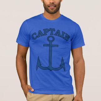 Captain Blue Anchor  American Apparel T-Shirt