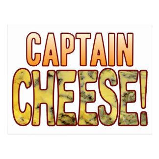 Captain Blue Cheese Postcard