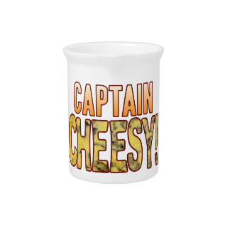 Captain Blue Cheesy Beverage Pitcher