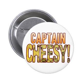 Captain Blue Cheesy Button