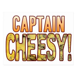 Captain Blue Cheesy Postcard