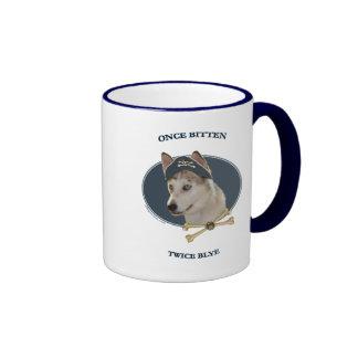 Captain Blye Ausky Dog Ringer Mug