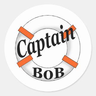 captain bob sticker
