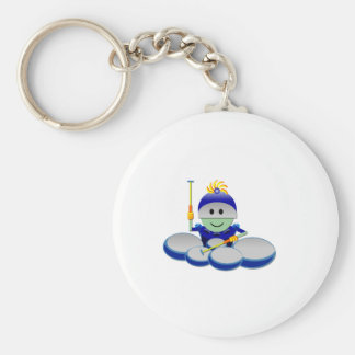 Captain Bok the Quads Space Guy From Outer Space Keychain