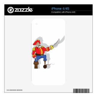 Captain brave cartoon iPhone 4 skins