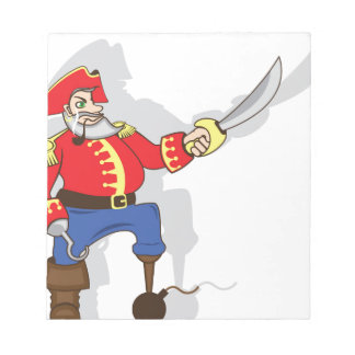 Captain brave cartoon notepad