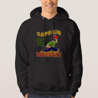 Captain Broadway (lite skin) Dark Hoodie