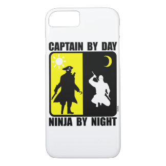 Captain by day, ninja by night iPhone 7 case