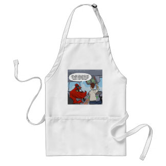 Captain Byrd Flies A Jumbo Jet Funny Adult Apron