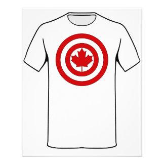 Captain Canada Shield Symbol Flyer