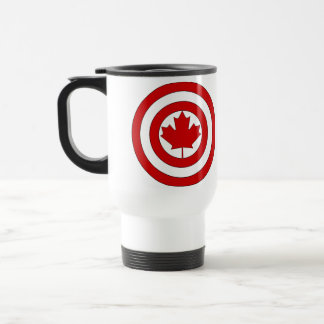Captain Canada Shield Symbol Travel Mug