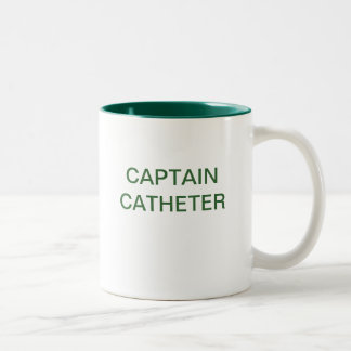 CAPTAIN CATHETER Two-Tone MUG