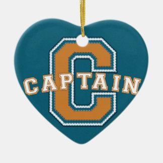 Captain Ceramic Ornament