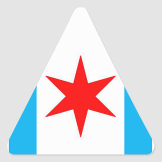 Captain Chicago Shield Triangle Sticker