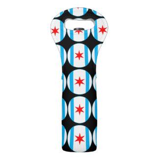 Captain Chicago Shield Wine Tote
