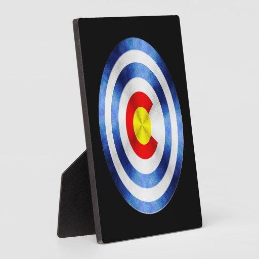 Captain Colorado Hero Shield Plaques