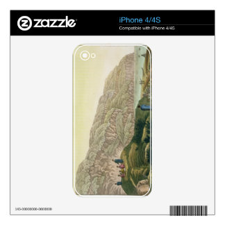 Captain Cook (1728-79) in Alaska during his voyage Skins For The iPhone 4