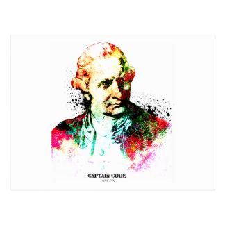 Captain Cook,British Navy's hero Postcard