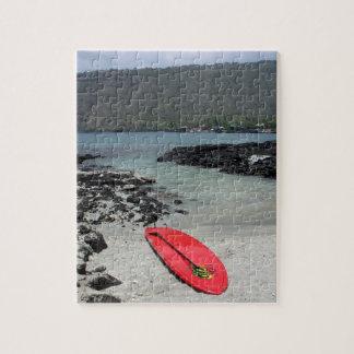 Captain Cook Hawaii beach scene paddleboard puzzle