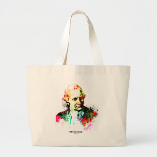 Captain Cook Large Tote Bag
