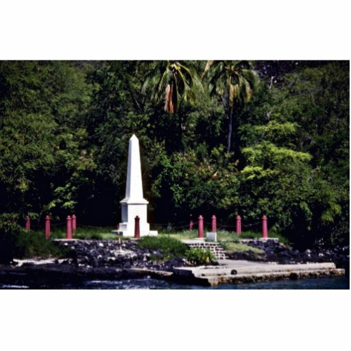 Captain Cook's Monument - Hawaii Photo Cut Outs