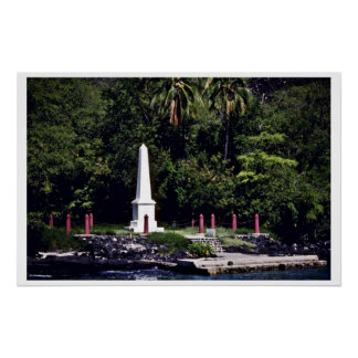 Captain Cook's Monument - Hawaii Poster