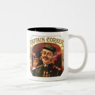 Captain Corker Coffee Mugs