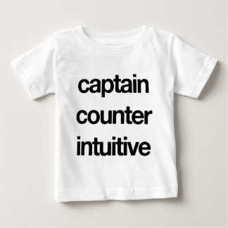 Captain Counter Intuitive Baby T-Shirt