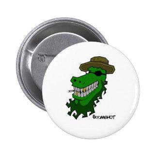 Captain Croc Pinback Button