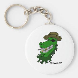 Captain Croc Keychain