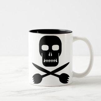 Captain Cruel's Skull & Cross-sporks Mug