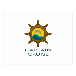 CAPTAIN CRUISE POST CARDS