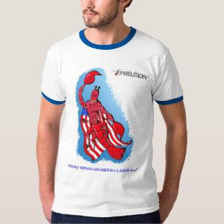 Captain Crustacean/Heart of a Hero men's T-shirt