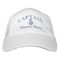 Captain - customizable hat