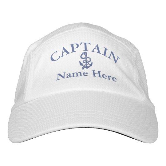 43d9d125 Captain - customizable hat | Zazzle.com