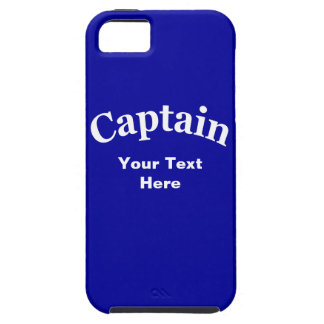 CAPTAIN - CUSTOMIZABLE iPhone 5 COVER