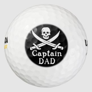 Captain Dad - Classic Golf Balls