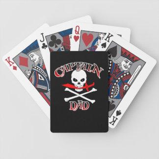 Captain Dad (Cutlass) Playing Cards