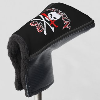 Captain Dad Golf Head Cover